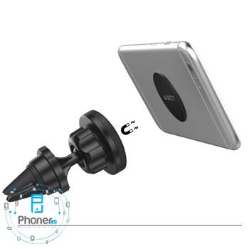 کشش بالای پایه نگهدارنده مغناطیسی HD-C23 Magnetic Air Vent Phone Mount