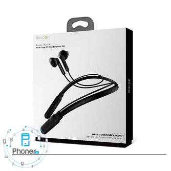 بسته بندی هندزفری بلوتوثی NGS16-01 Encok Neck Hung Wireless Earphone S16