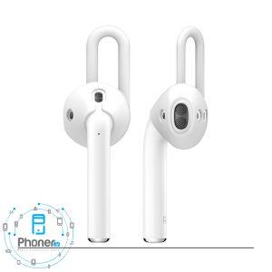 رنگ سفید EAP-PAD Airpods Ear Pads