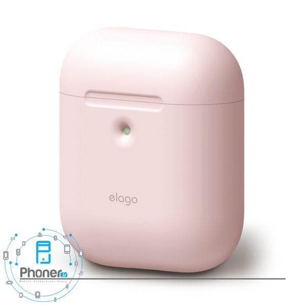 رنگ صورتی کم رنگ Elago EAP2SC Silicone Case
