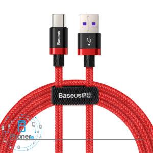 رنگ قرمز Baseus HW Flash Charge Cable