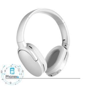 رنگ سفید هدفون Baseus NGD02-01 Encok Wireless Headphone D02