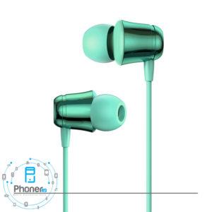رنگ سبز Baseus NGH13-01 Encok 3.5mm Wired Earphone