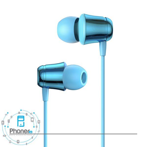 رنگ آبی Baseus NGH13-01 Encok 3.5mm Wired Earphone