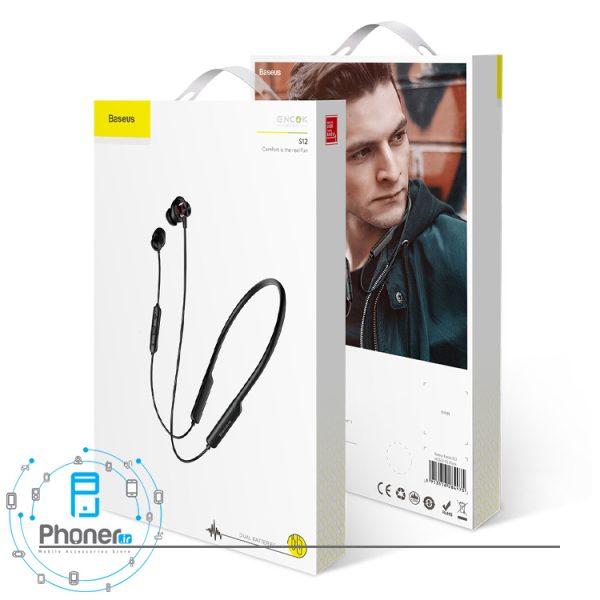 بسته بندی Baseus NGS12-01 Encok Wireless Headphone S12