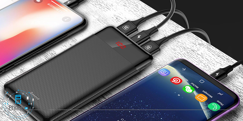 امکان شارژ همزمان چند دستگاه با Baseus PPALL-AKU01 Mini Digital Display Power Bank