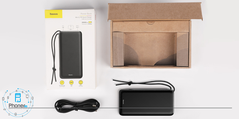 بسته بندی Baseus PPALL-DXQ01 Mini Q PD Quick Charger Power Bank