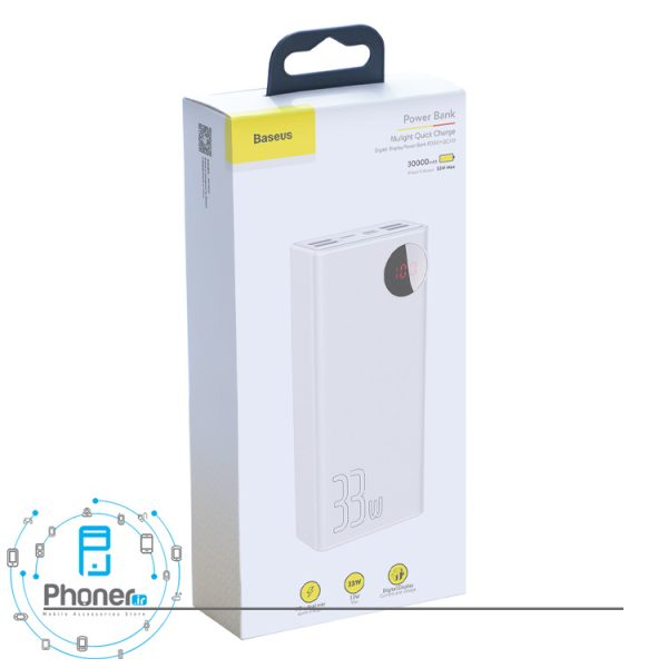 بسته بندی Baseus PPMY-01 Mulight QC & Large Power Digital Display