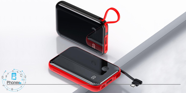 طراحی زیبا Baseus PPXF-A01 Mini S Digital Display Power Bank