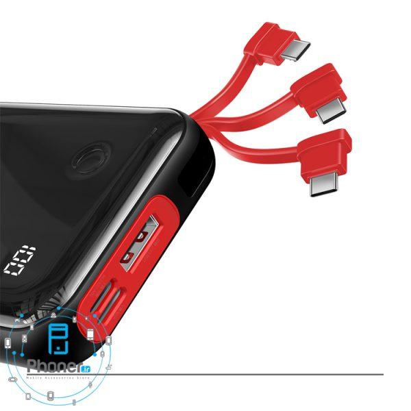 کابل همراه Baseus PPXF-A01 Mini S Digital Display Power Bank