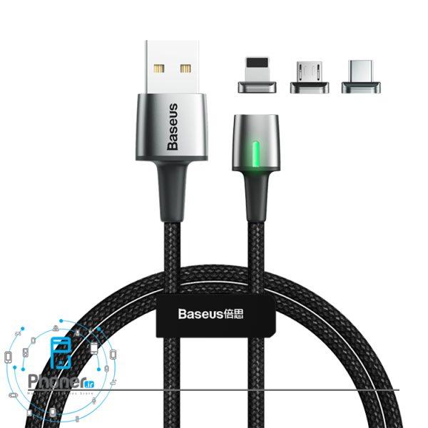 Baseus TZCAXC-A01 Zinc Magnetic Cable Kit