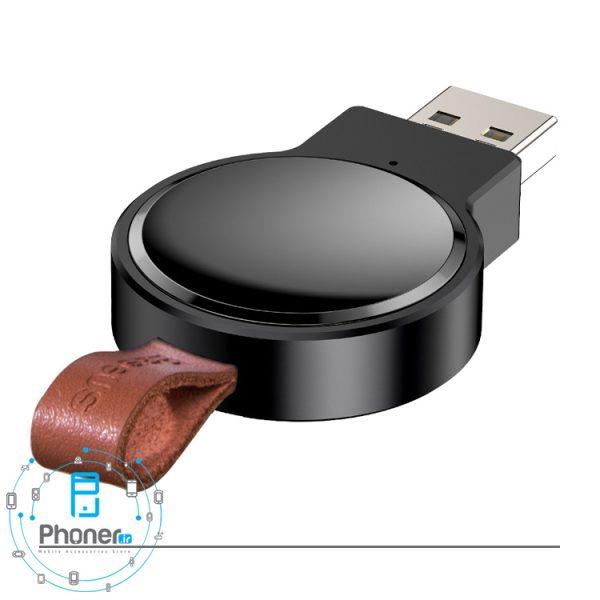 نمای کناری Baseus WXYDIW02-01 Dotter Wireless Charger For Apple Watch