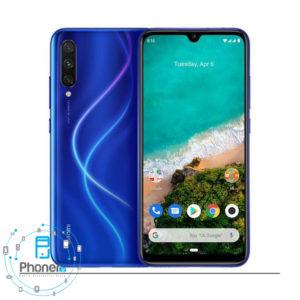 رنگ آبی Xiaomi Mi A3