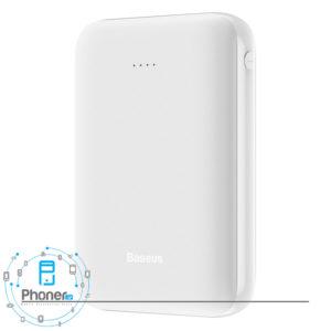 نمای کناری رنگ سفید Baseus PPJAN-A01 Mini JA X10
