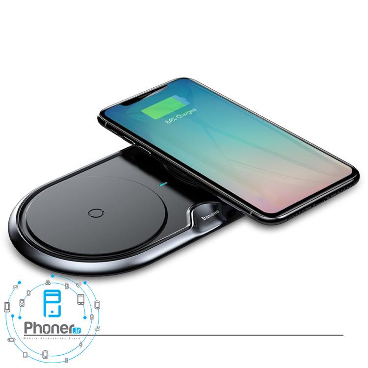 شارژر بیسیم Baseus WXXHJ-A01 Dual Wireless Charger