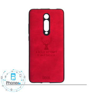 رنگ قرمز DEER PSCK20 Patterned Silicone Case