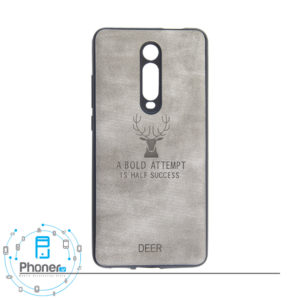 رنگ خاکستری DEER PSCK20 Patterned Silicone Case