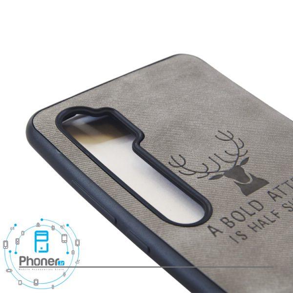 نمای زاویه کناری Deer PSCMN10 Patterned Silicone Case
