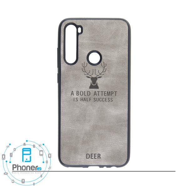 رنگ خاکستری DEER PSCRN8 Patterned Silicone Case
