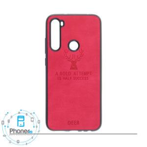 رنگ قرمز DEER PSCRN8 Patterned Silicone Case