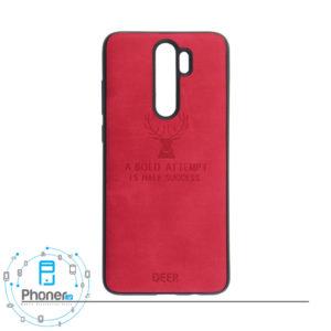 رنگ قرمز DEER PSCRN8P Patterned Silicone Case