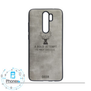 رنگ خاکستری DEER PSCRN8P Patterned Silicone Case