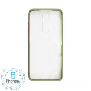 رنگ سبز Xiaomi CSCRN8P Clear Silicone Case