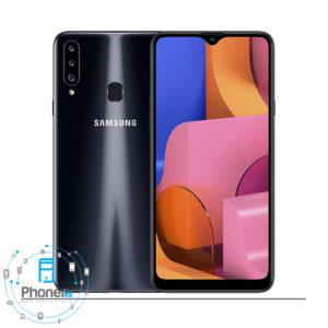رنگ مشکی گوشی موبایل Samsung Galaxy A20s