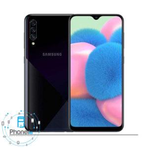 رنگ مشکی گوشی موبایل Samsung Galaxy A30s