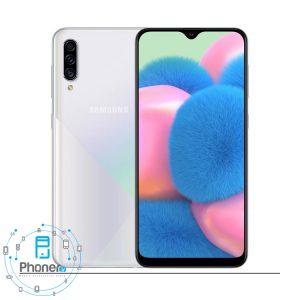 رنگ سفید گوشی موبایل Samsung Galaxy A30s