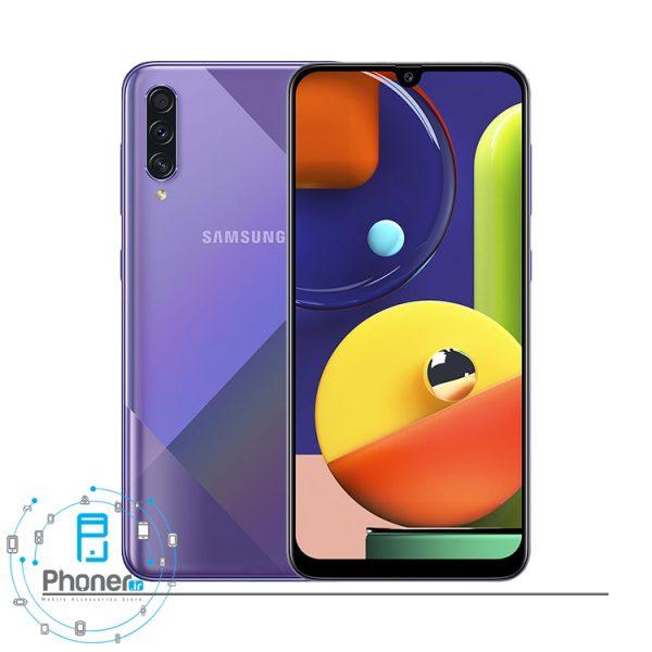 رنگ بنفش Samsung Galaxy A50s