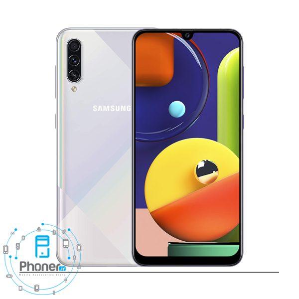 رنگ سفید Samsung Galaxy A50s