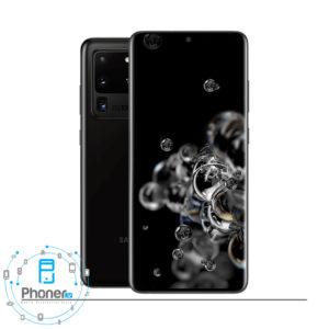 رنگ مشکی گوشی موبایل Samsung Galaxy S20 Ultra 5G