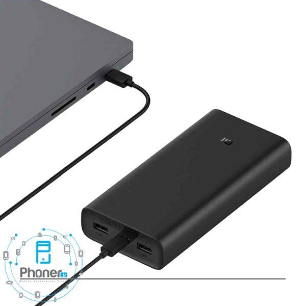 امکان شارژ لپ تاپ با Xiaomi PB2050ZM Mi Power Bank 3 Pro 50W