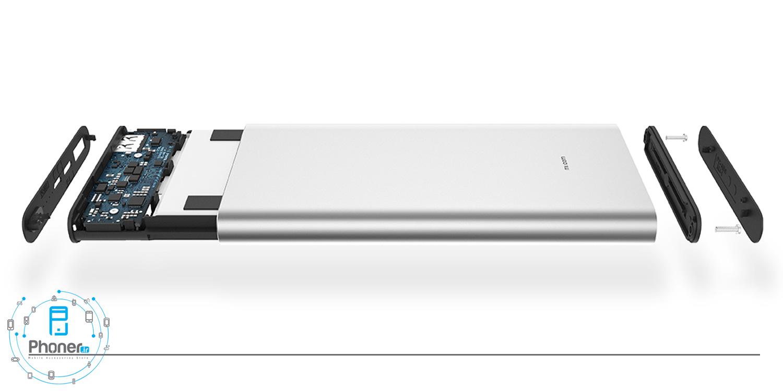 طراحی داخلی Xiaomi PLM12ZM Mi Power Bank 3