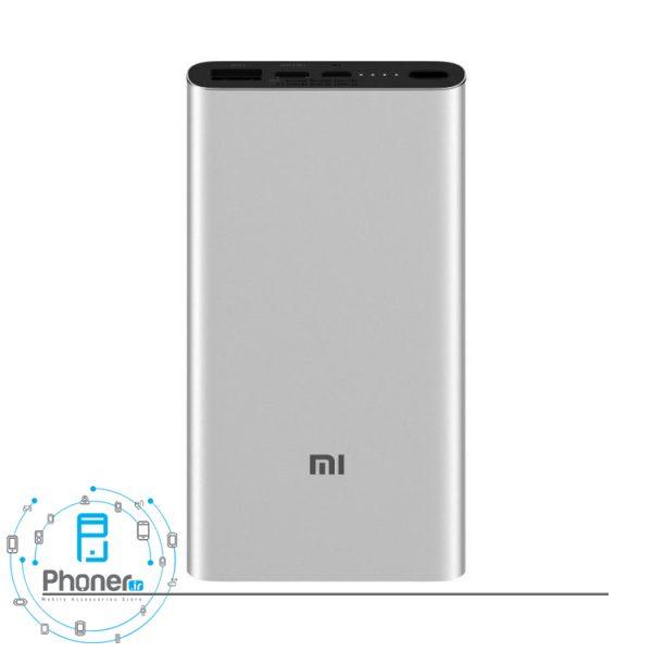 رنگ نقره ای Xiaomi PLM12ZM Mi Power Bank 3