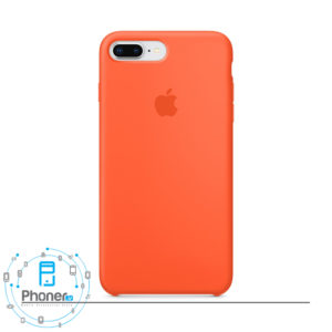 رنگ Spicy Orange گوشی Apple SCAIP78P Silicone Case