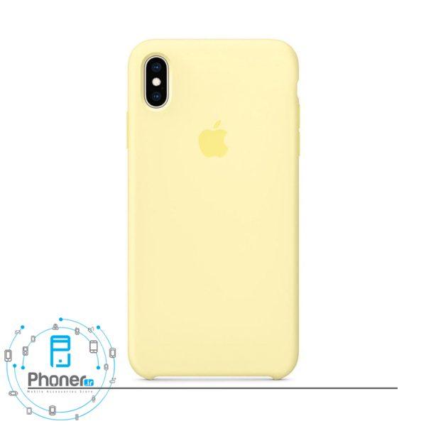 رنگ زرد کم رنگ گوشی Apple SCAIPXSM Silicone Case