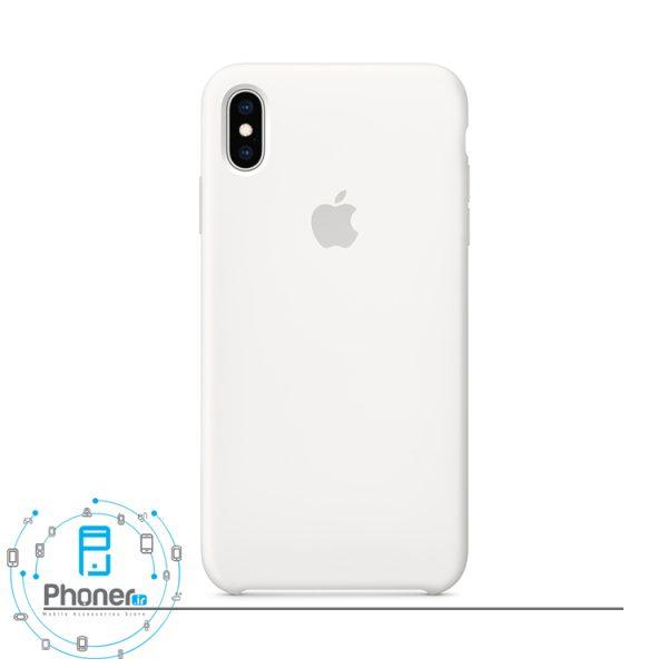رنگ سفید گوشی Apple SCAIPXSM Silicone Case