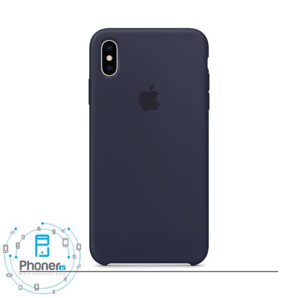 رنگ Midnight Blue گوشی Apple SCAIPXSM Silicone Case