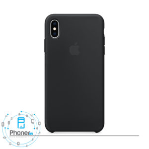 رنگ سیاه گوشی Apple SCAIPXSM Silicone Case