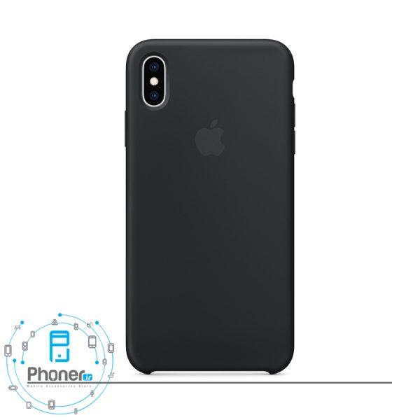 رنگ سیاه گوشی Apple SCAIPXSM Silicone Case