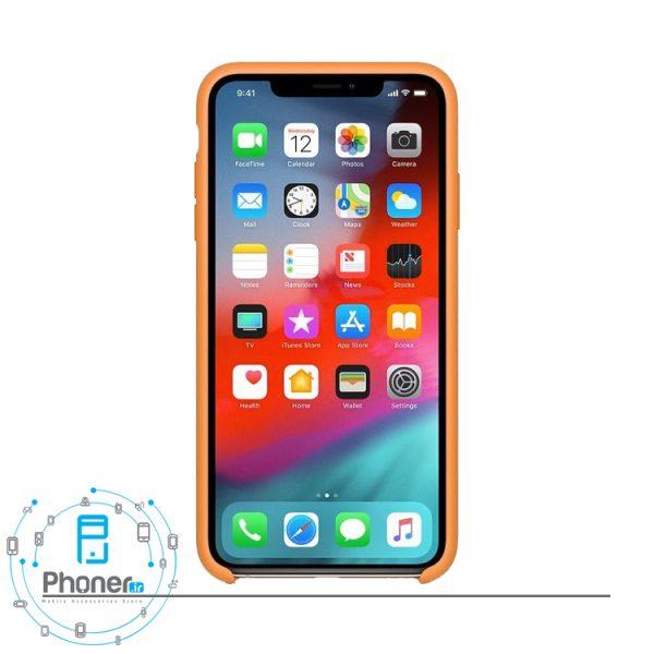 نمای جلو گوشی Apple SCAIPXSM Silicone Case