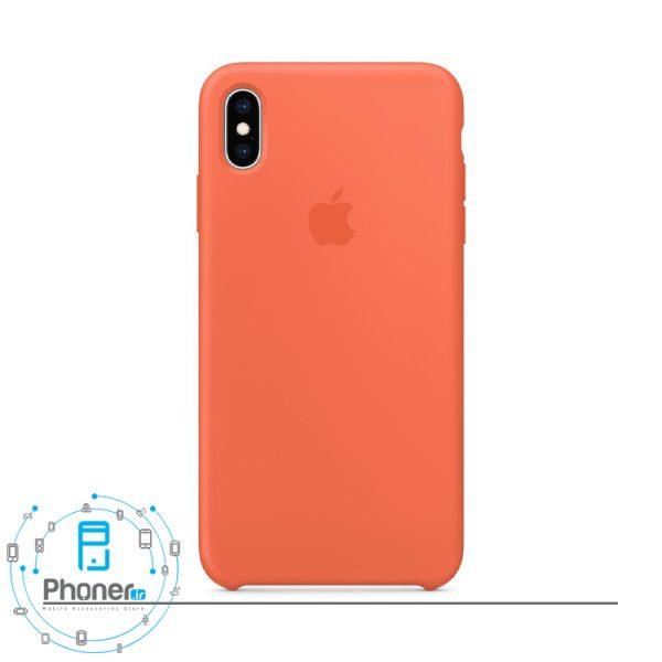 رنگ هلویی گوشی Apple SCAIPXSM Silicone Case