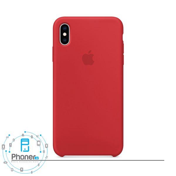 رنگ قرمز گوشی Apple SCAIPXSM Silicone Case