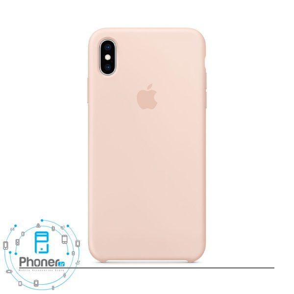 رنگ صورتی ماسه ای گوشی Apple SCAIPXSM Silicone Case