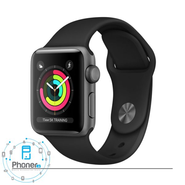 رنگ مشکی Apple Watch Series 3 42mm