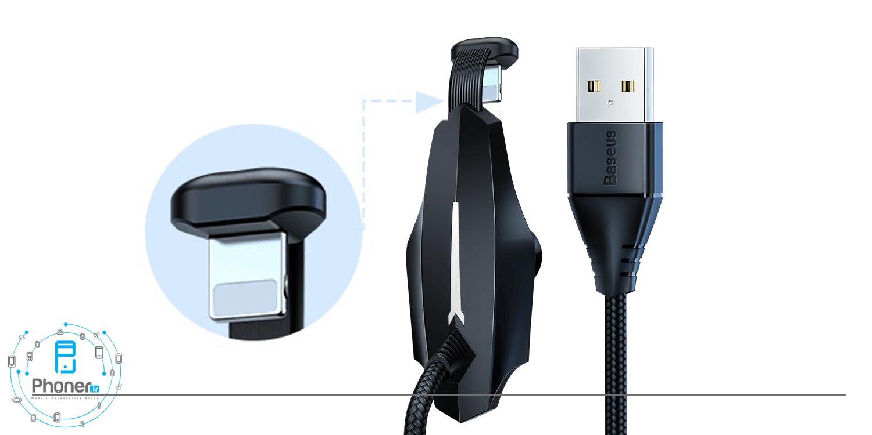 کابل Baseus CALXA-B01 Colorful Suction Mobile Game Data Cable