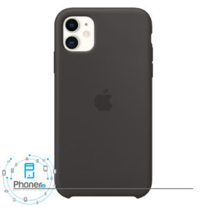 رنگ Black قاب گوشی Apple SCAIP11 Silicone Case