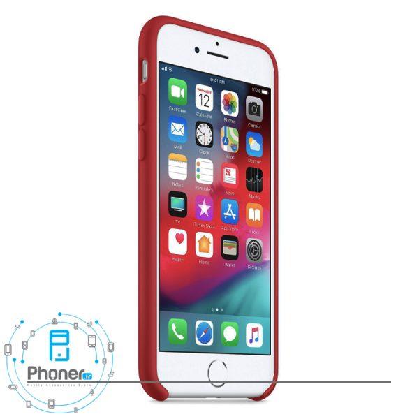 نمای کناری قاب محافظ Apple SCAIP78 Silicone Case